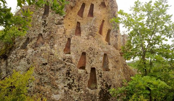"Sanctuaries, Rocky sanctuary ""Harman Kaya"", village of Bivolyane, Attractions Momchilgrad"