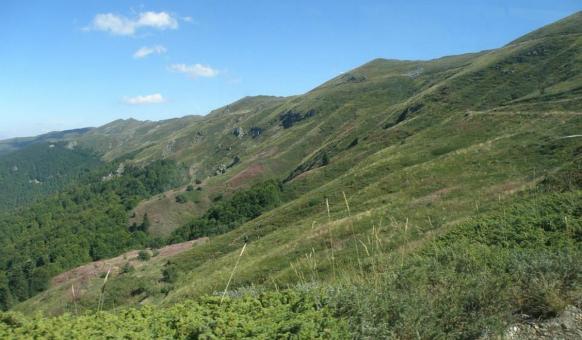 """Природен парк """"Беласица"""" - билото на планината"""