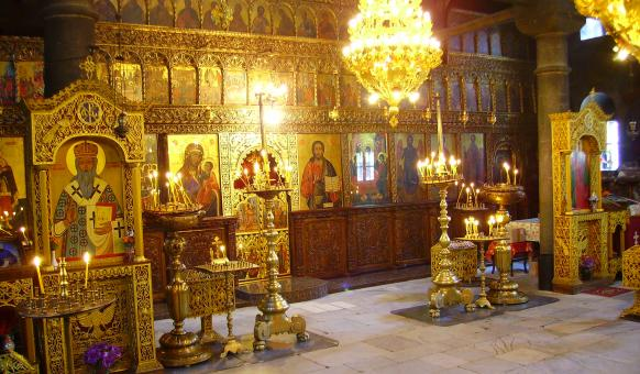 Бачковски манастир - иконостас