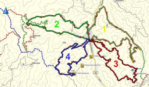 Четерите маршрута