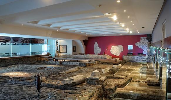 Музеи, Тракарт, Антични мозайки, Забележителности Пловдив
