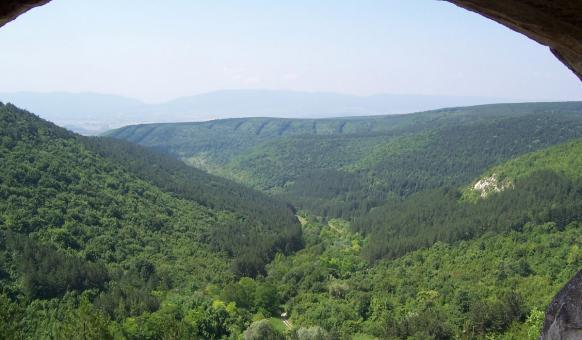 Скални манастири по Шуменското плато