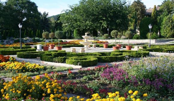 Ботаническа градина, Балчик, Забележителности в Балчик, Двореца в Балчик
